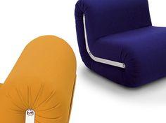 Boomerang - armchair designed for B-LINE by Rodolfo Bonetto.