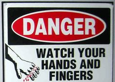 """Danger: Fingers may fall off if unmonitored. Technical Documentation, Fingers, People, People Illustration, Folk"