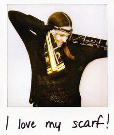 I love my Hermes scarf