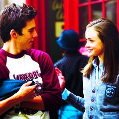 Jess and Rory. Meant to be!!!