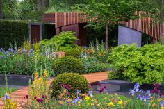 The Homebase Garden - Urban Retreat. RHS Chelsea Flower Show 2015. Design by Adam Frost.