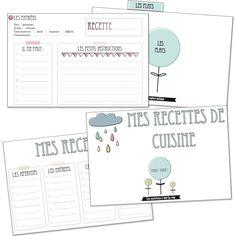 2Vie de Miettes » Des cartes de recette de cuisine !