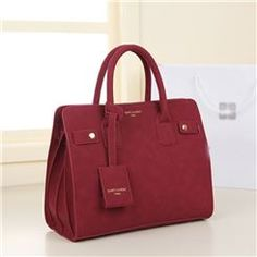 New Arrival Concise Vintage Pure Color Design Lady's Handbags Workout Accessories, Leather Handbags, Pure Products, Tote Bag, Shoes, Vintage, Design, Color, Leather Totes