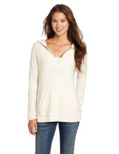 Roxy Juniors Sierra Ridge Long Sleeve Sweater: Clothing