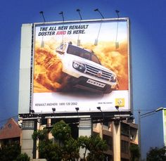 Renault India teams up with Encyclomedia for the 2nd Phase of their Renault Duster AWD Pan India campaign; where in Encyclomedia enhanced the creative and gave it a 3D look- which literally caught the attention of the masses across India.