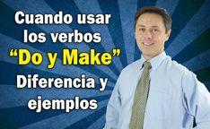 """CUANDO USAR LOS VERBOS """"MAKE y DO"""". ¡VEA ESTA CLASE!!"""