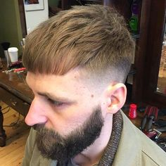 Haircut by that_barber_birty http://ift.tt/1RngM4g #menshair #menshairstyles #menshaircuts #hairstylesformen #coolhaircuts #coolhairstyles #haircuts #hairstyles #barbers