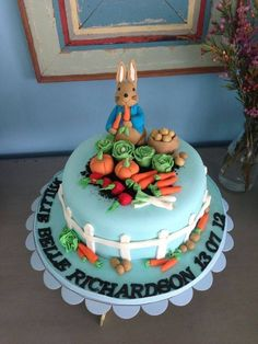 peter rabbit cakes | My Fat Lady Cakes & Bakes | Cakes are great!