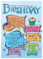 Zenspirations Birthday inspirations. This was one of the first Zenspirations cards I did!