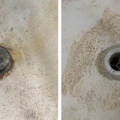 Resurfacing of shower and counter tops Before And After Pictures, Counter Tops, Surface Design, Restoration, Designers, Shower, Countertops, Rain Shower Heads, Vanity Tops