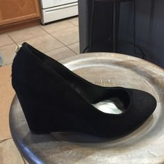 Rampage Black Wedges Heels Shoes New in box Rampage Shoes Wedges