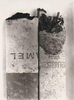 Irving Penn - Cigarettes, New York (1972-4)