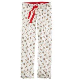 "Aerie Flannel PJ Pants: Reindeer are the perfect Christmas accessories! (Size: Medium, please, ""Santa"" ;) )"