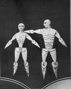 bauhaus theater costumes