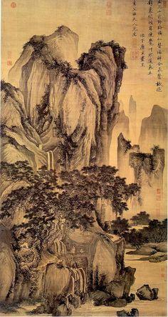 Tang Yin (Chinese landscape painter, 1470-1523). University of Idaho Library.