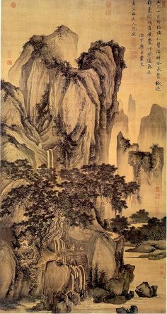 Tang Yin (Chinese landscape painter, 1470-1523). University of Idaho Library.