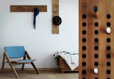 5 Things to Do with Wooden Dowels --- Coat Rack