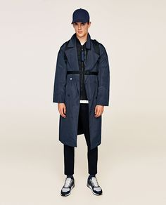 Image 1 of CONTRAST BOMBER JACKET from Zara