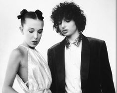 Ew what a fuck is this, so dope #strangerthings #milliebobbybrown #finnwolfhard