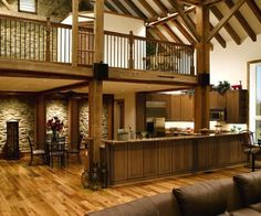 Love the open, airy look and the loft!
