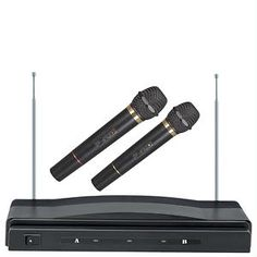 Supersonic Wireless Dual-Microphone System! Perfect gift!