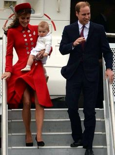 William, Catherine & Geoege