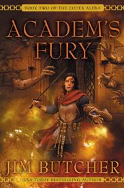 Academ's Fury - Jim Butcher  Actually the whole Codex Alara series by Jim Butcher is amazing