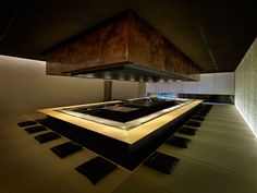 Kyoto Kokusai Hotel [Steak House Omi] | kengo kuma and associates