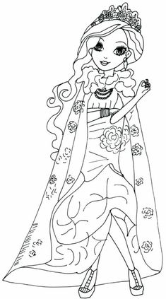 desenhos colorir briar beauty ever after high Easter Egg Coloring Pages, Lego Coloring Pages, Free Coloring Sheets, Coloring Pages For Girls, Disney Coloring Pages, Coloring Pages To Print, Printable Coloring Pages, Coloring Books, Ever After High