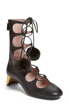 Gucci 'Heloise' Lace-Up Boot (Women) available at #Nordstrom