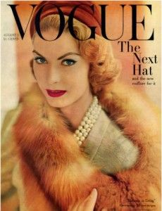 Love this old cover of Vogue