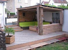 abri terrasse on pinterest. Black Bedroom Furniture Sets. Home Design Ideas