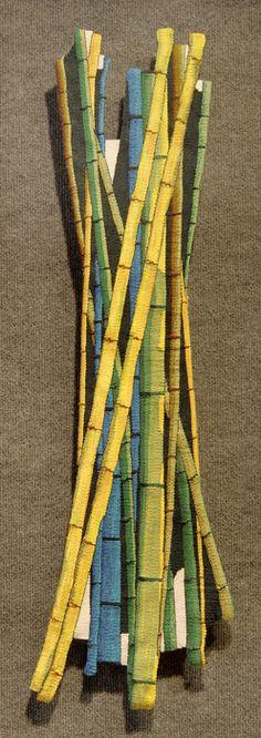 """Tapestry - Terri Stewart, """"Bamboo"""" 2009"""