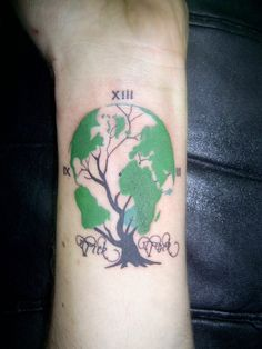 Earth Tattoos #1408 | Best Tattoos