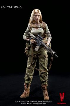 VERYCOOL TOYS Female Shooter