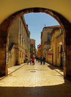 Zadar is a city in Croatia on the Adriatic Sea.