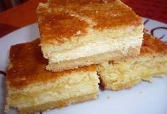 Túrós pite Évikonyhájától Hungarian Cake, Hungarian Recipes, Hungarian Food, Thing 1, Vanilla Cake, Tiramisu, Quiche, Cheesecake, Favorite Recipes