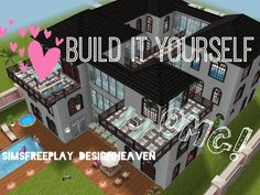 Sims Freeplay *Build it Yourelf!* Family Mansion Sims freeplay houses Sims house Sims house design
