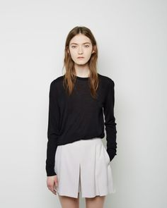 Proenza Schouler / Superfine Merino Pullover Proenza Schouler / Pleated Shorts #pf14