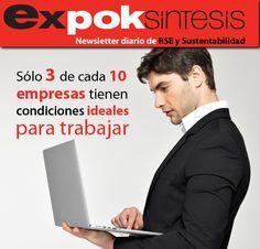 Sólo 3 de cada 10 empresas tienen condiciones ideales para trabajar http://www.expoknews.com/2013/07/09/solo-3-de-cada-10-empresas-tienen-condiciones-ideales-para-trabajar/