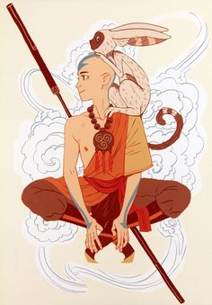 avatar the last airbender aang Avatar Airbender, Avatar Aang, Avatar Legend Of Aang, Avatar The Last Airbender Art, Team Avatar, The Legend Of Korra, Character Drawing, Character Design, Avatar Costumes