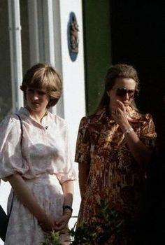 Lady Diana Spencer , Polo , Berkshire - 27 Juillet 1981