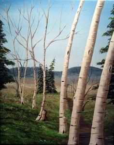 """Alders"" 16 x 20 Acrylic Painting by Steve Duprey. www.dupreyart.com Artwork, Plants, Painting, Work Of Art, Auguste Rodin Artwork, Painting Art, Artworks, Paintings, Plant"