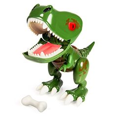 Z-Rex is the troublemaking and game playing species of Zoomer Chomplingz who's full of bite! He's always up for using his camouflage design to hide and surprise his friends! This 'lil mischief-m...
