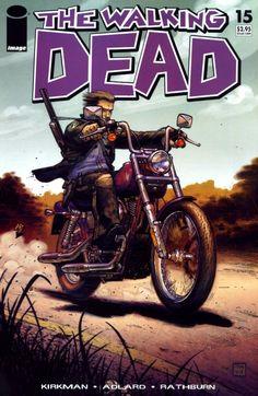 Capa da Edição #15 de The Walking Dead