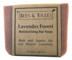 Bees & Trees - Lavender Forest Natural Soap