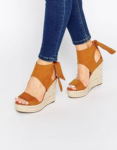 Pimkie Tie Back Wedge Sandal