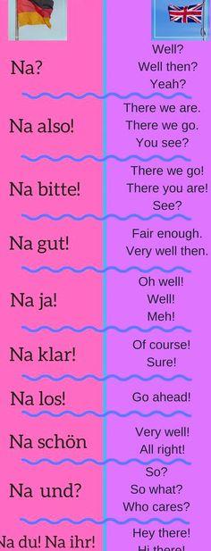 Study German, German English, Learn English, German Grammar, German Words, Germany Language, German Language Learning, Good Morning Messages, Book Club Books
