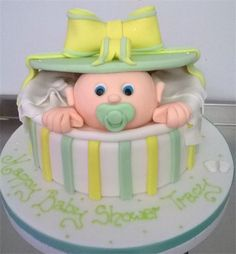 Unisex Baby Shower Cakes   Google Search More