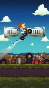 Hill Bill - This app is one hilarious combination of stereotypes and action gameplay, producing a mixture that is every bit as fun to play as it is simple. You'll be smashing things and shooting rednecks across dangerous courses. As an Evil Knieval-style enthusiast with a penchant for building home made ramps tries to get his career going, you'll fire him across level after level of flaming hoops, junker cars, swamps, junkyards, and even a circus or two. Click the image for our full review.